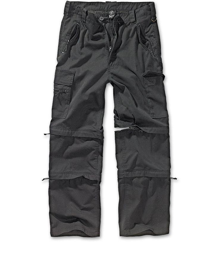 Kalhoty Savannah - odepínací nohavice - Černá