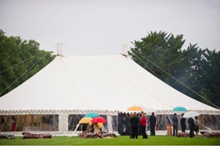 This is our Extended Traditional Circular Tent - also referred to as our Extended Big Top.