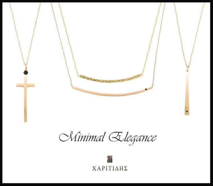 Minimal elagnace, layering, gold & rose gold