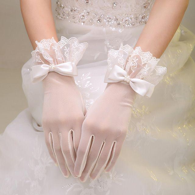 Sarung Tangan Gaun Pengantin
