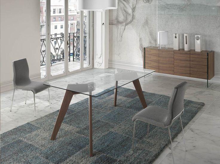 M s de 1000 ideas sobre mesas de comedor ovalada en - Mueble italiano moderno ...