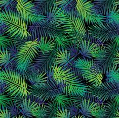정글 팜형 패턴 vector art illustration