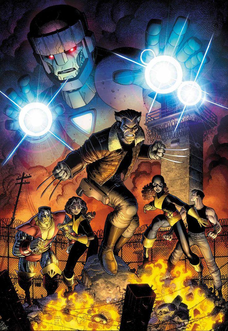 Buzz Comics, le forum qui regarde passer les events, les crossovers, les reboots et qui aboie - Afficher un message - Years of Future Past #4