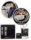 ♠‡ 2015-P 1oz PF Silver Star #Trek #Capt Archer & #Enterprise 2-Coin Set OGP... Buy now! http://ebay.to/2ha0Toh