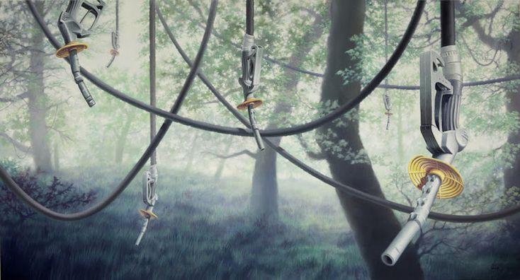 Matthew Quick Artist - The Tangled Web