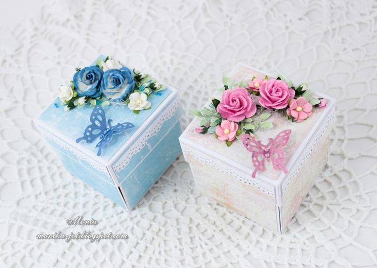 Exploding boxes by Monia - Cards and Paper Crafts at Splitcoaststampers
