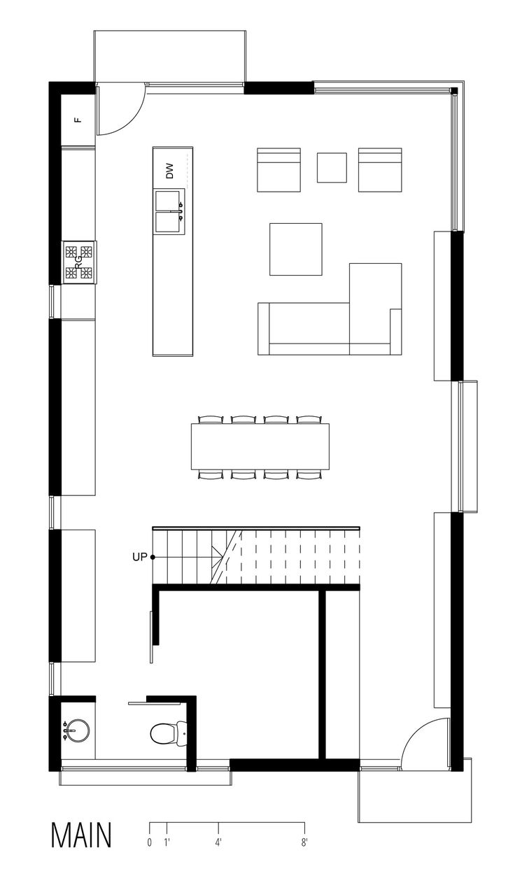 1000 images about house plans on pinterest one bedroom for Ranch home progetta planimetrie