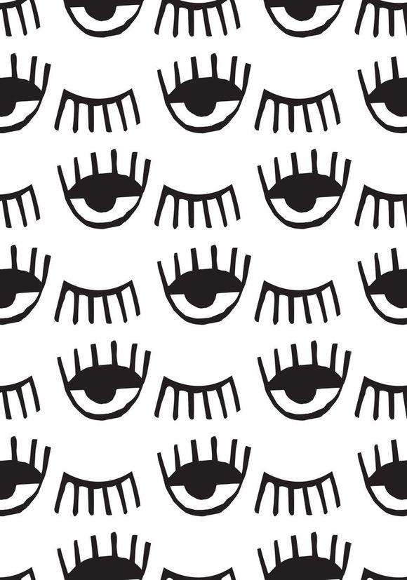 Eye wall paper