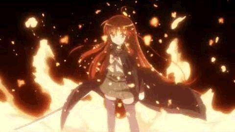 shakugan no shana (Shana of the Burning Eyes)