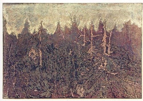 Dead forest by Josef Vachal