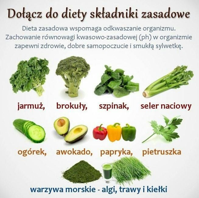 Dołącz do diety zasadowej