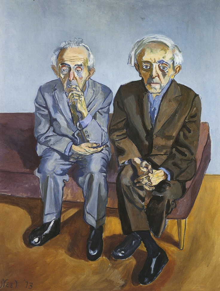 Alice Neel - The Soyer Brothers
