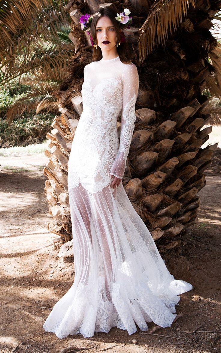 4198 best images about wedding dresses on pinterest 2016 for Dotted swiss wedding dress