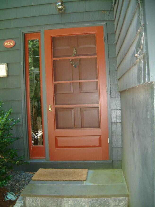 Best 25 Wood Storm Doors Ideas On Pinterest Wood Screen