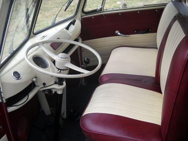 "interior design vw t1 kombi bus 6 doors ""TAXI"" by kombibus, via Flickr"