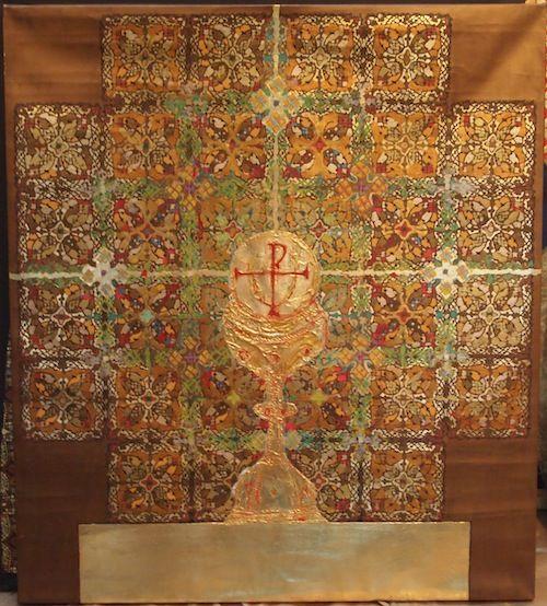 Silviu Oravitzan este un artist plastic român născut în 4 octombrie 1941 la Ciclova Montană, județul Caraș-Severin. Are numeroase expoziții și lucrări de artă în muzee și colecții private din România, Marea Britanie, Franța, Germania, Suedia, Statele Unite etc. Deși pare influențat de diferiți pictori abstracți din secolul XX, Oravitzan este considerat de critica de specialitate a-și avea rădăcinile în arta religioasă a Răsăritului creștin-ortodox.
