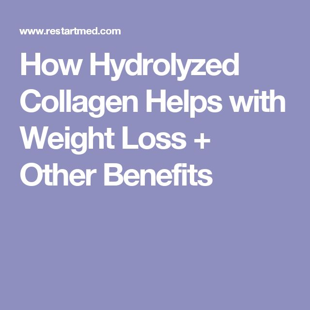 How Hydrolyzed Collagen Helps with Weight Loss + Other Benefits