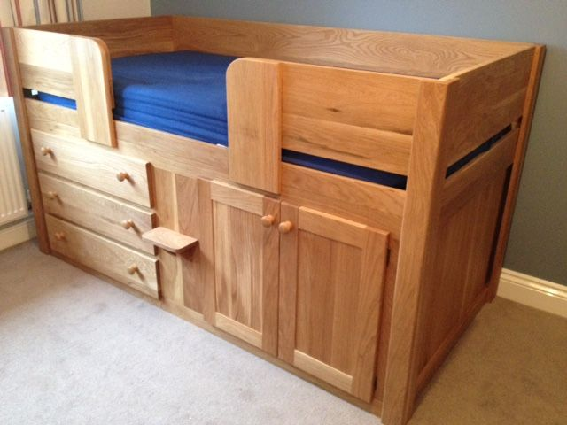 Exceptional 3 Drawer Cabin Bed In Solid Oak. Aspenn Furniture Only Use Solid Natural  Woodsu2026 | КРОВАТЬ | Pinterest | Solid Oak And Childrens Cabin Beds Amazing Ideas
