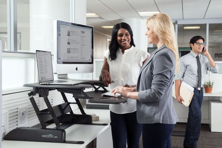 Adjustable height desks for Autumn VARIDESK print campaigns #Changethewayyouwork - http://uk.varidesk.com/height-adjustable-desks