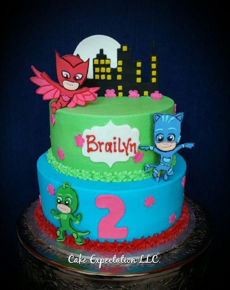 PJ Masks Birhday Cake