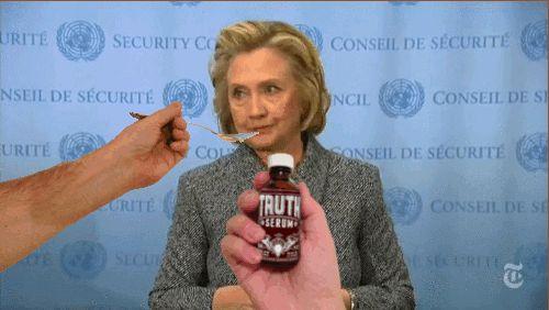 Hillary Clinton - Truth Serum