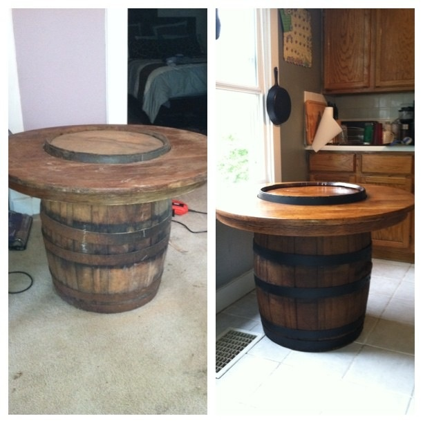 32 best images about whiskey barrels on pinterest wine for Table 52 wine list