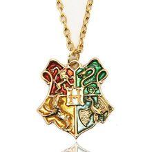 Escuela de Magia Colgante y Collar de Harry Potter Fans Películas Accesorios Para Las Mujeres Y Los Hombres Regalo de La Amistad(China (Mainland))