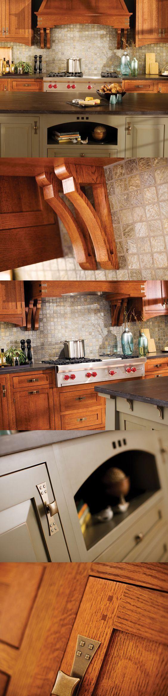 #Craftsman #Kitchen Design in Dura Supreme #Cabinetry