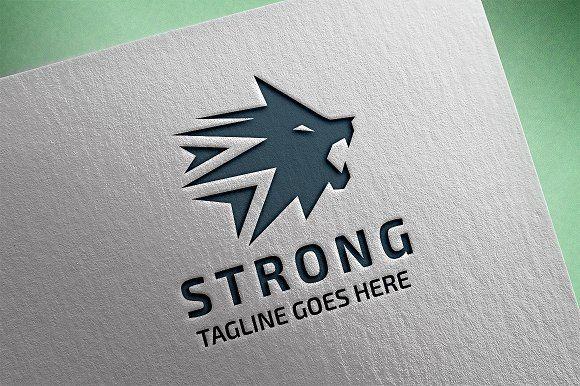 Lion Head Logo by tkent on @creativemarket