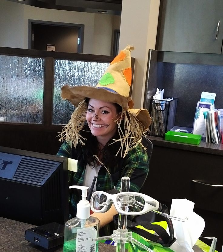 The happiest scarecrow we know!!