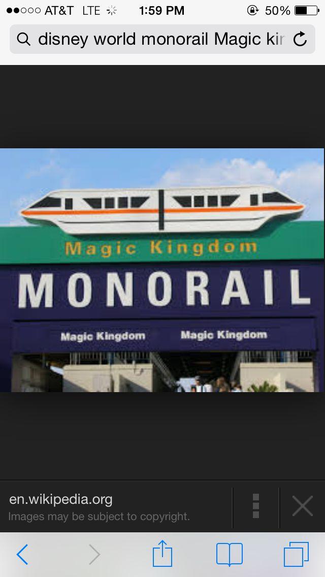 I love the Monorail | I wanna Go..... | Pinterest