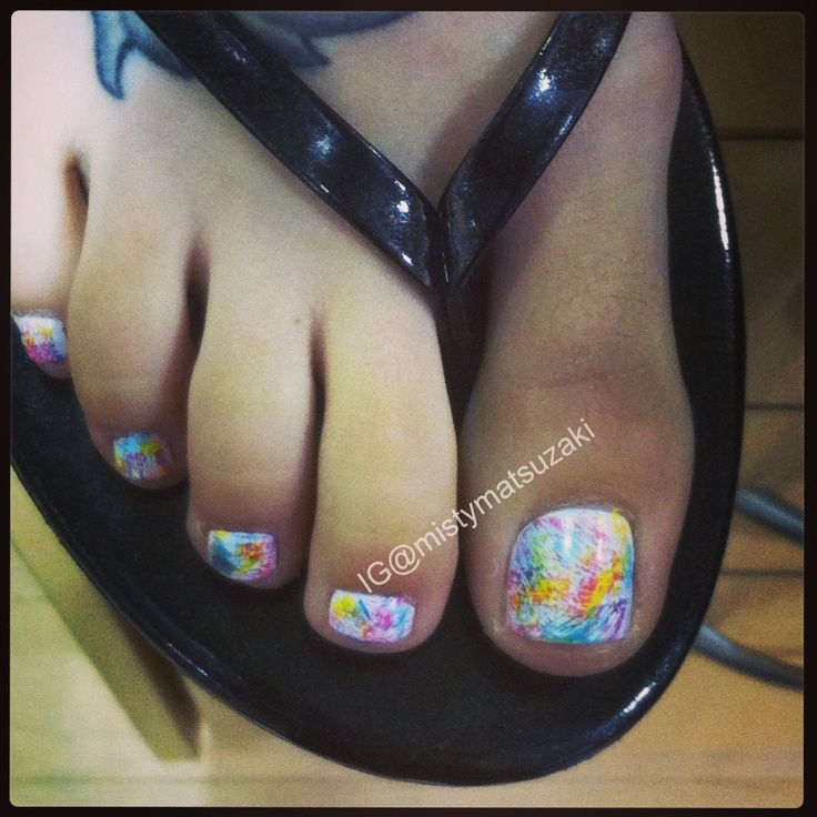 Toe Nail Art Tutorials: 183 Best Images About Nail Art: TOE NAILS On Pinterest