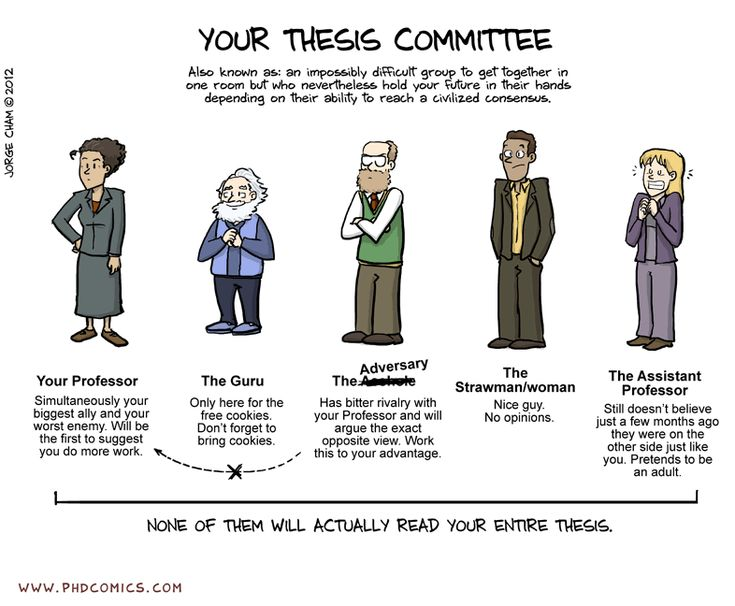 How to ask someone to be on your dissertation committee