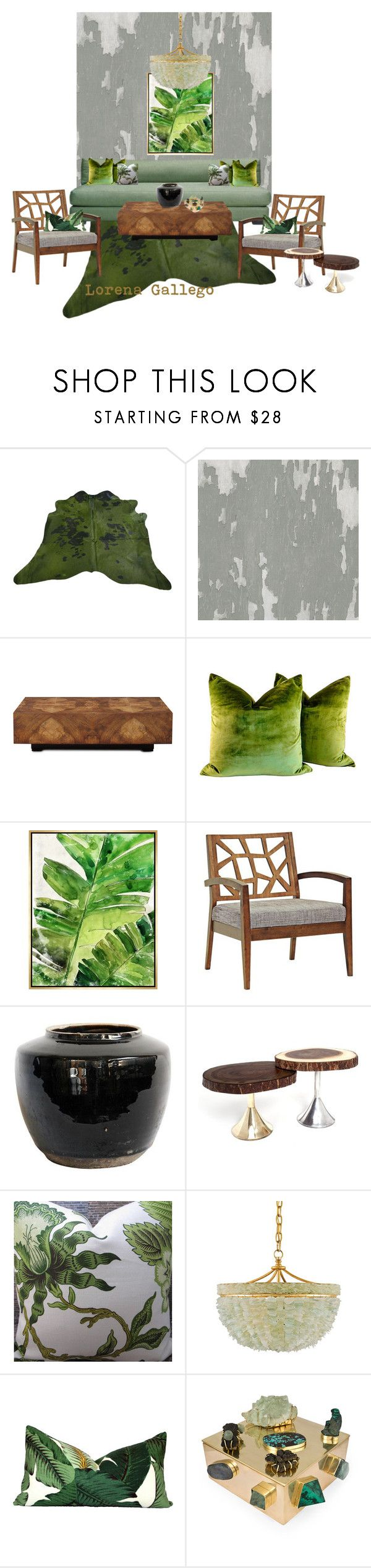 Home decor collage from january 2017 featuring currey company - Verde By Lorena Gallego On Polyvore Featuring Interior Interiors Interior Design Hogar Kelly Wearstlerinterior Decorating