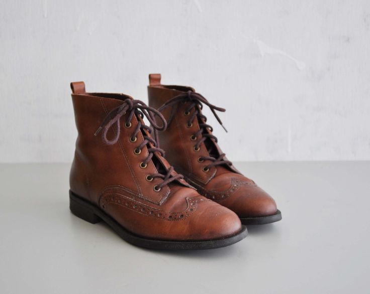 Brown Oxford Boots