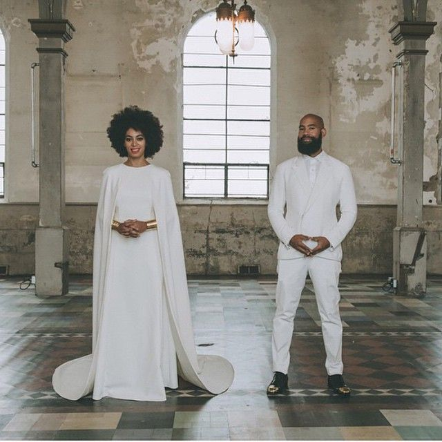 Solange had the most indie wedding ever