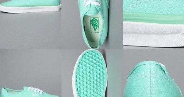 Tiffany Blue Vans. Super cute!!