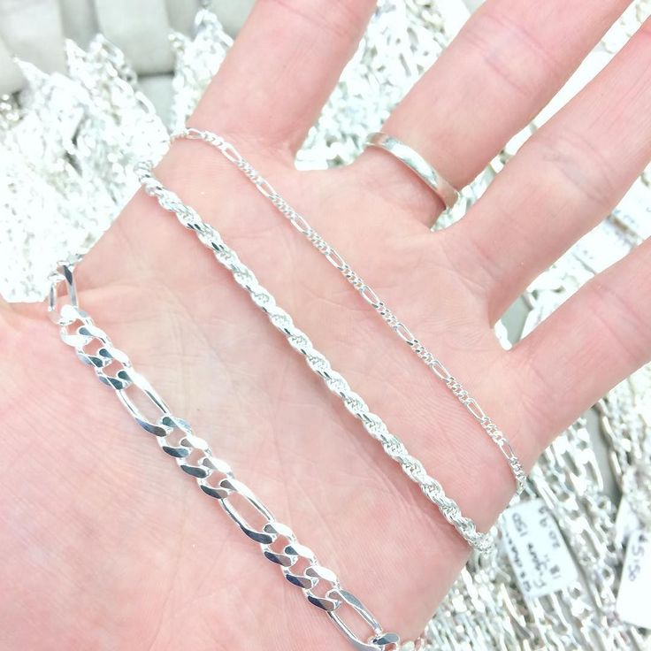 Sterling silver chains are still on SALE! Until Saturday!! 40% off #HamOnt don't miss it!