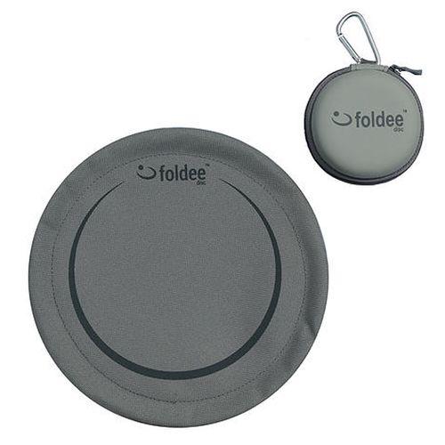 Grey Folding Frisbee by Foldee