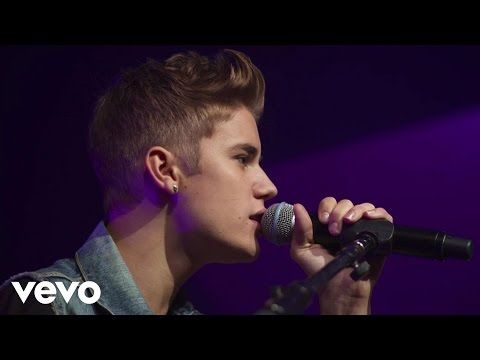 Justin Bieber - As Long As You Love Me (Acoustic) (Live) - YouTube