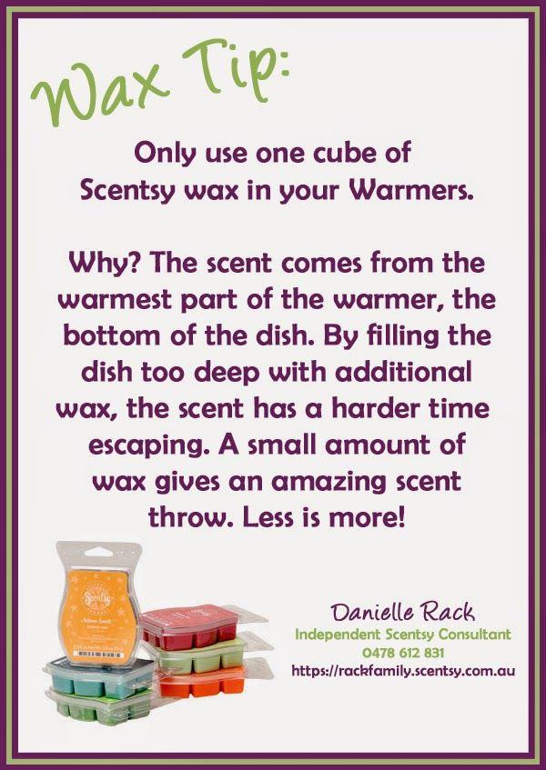 Making Scents Down Under: Wax Tip #001
