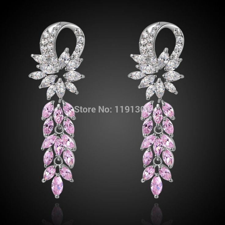 Hot Brand New Fashion Jewelry Lady S Expensive Pink