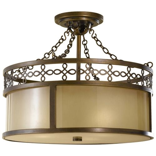Murray feiss lighting justine semi flush ceiling fixture ceiling lighting for the home macys