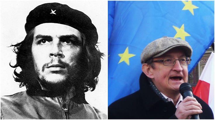 okradł kasę Solidarności Dolnośląskiej przed stanem wojennym, potem  brał kasę od trockistowskiej Międzynarodówki -  Na pierwszym zjeździe regionalnym Solidarności w lutym 1990 Pinior w uchwale dziękował  właśnie IV MIędzynarodówce za pomoc w walce z systemem W 1990 został liderem trockistowskiego Socjalistycznego Ośrodka Politycznego. Wraz z jego działaczami został w lutym tego samego roku usunięty z PPS-RD…