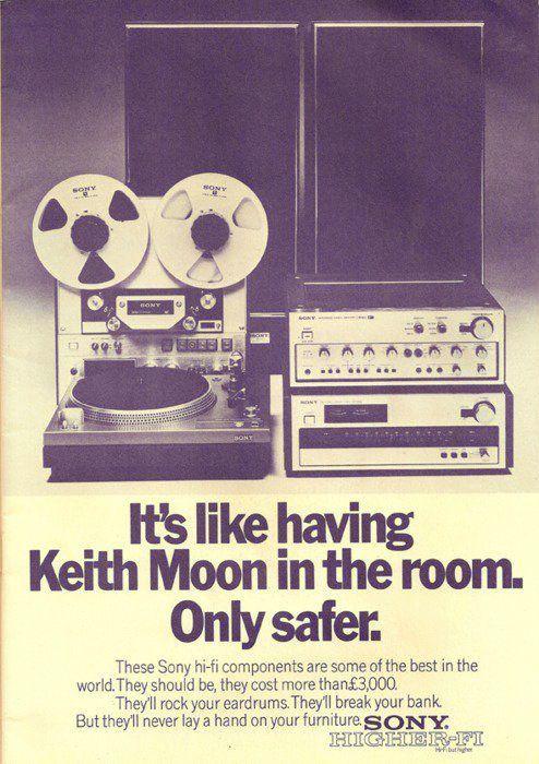 Sony Advertisement, 1973