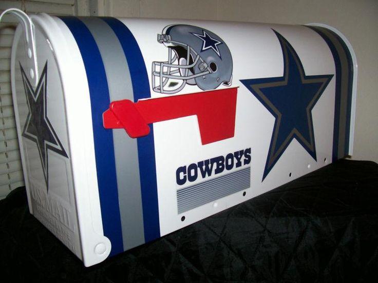 NFL DALLAS COWBOYS CUSTOM MAiLBOX