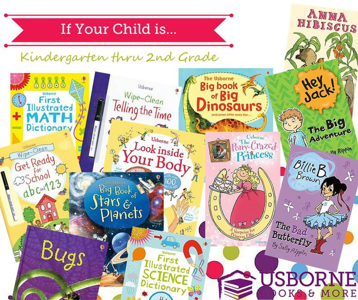 Best of Usborne's Kindergarten, 1st, and 2nd Graders
