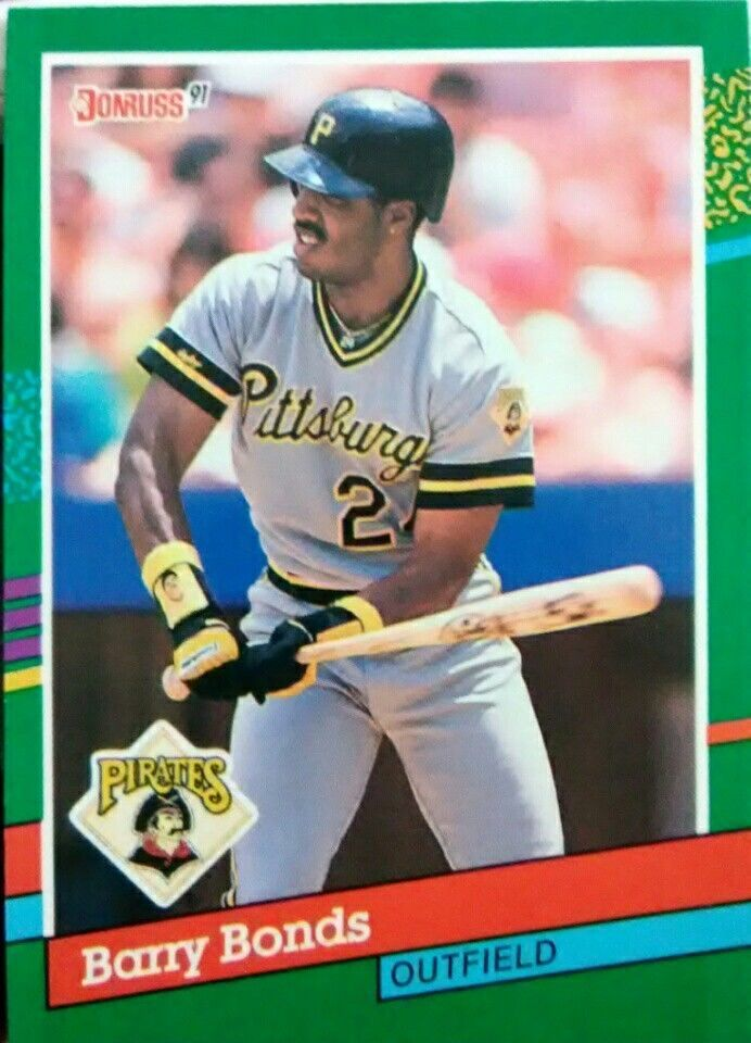 1991 Donruss Barry Bonds 495 Baseball Card Near Mint