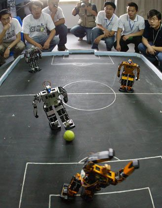 National Robot Soccer Competition