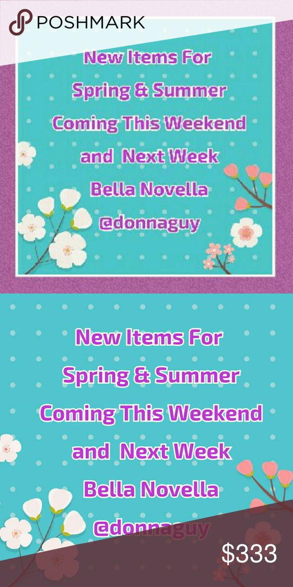 NEW ARRIVALS Spring & Summer looks coming. Rompers, Mini Dresses, Maxi Dresses, Slip Dresses, Tank/camisole Tops Brands: Betsey Johnson, ASTR, Go Couture, Felicity and Coco, Lush, and more Michael Kors Tops
